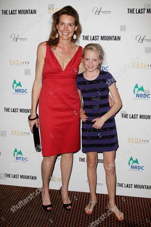 Clara Bingham (Producer) with daughter
