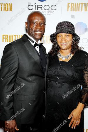 Stock Photo of Cepttus and Beatrice Johnson