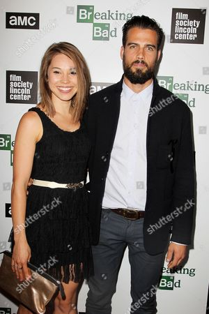 Stock Image of Rebecca Blumhagen and Thomas Beaudoin