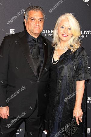 Stock Image of Joe Germanotta and Cynthia Germanotta