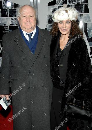 Bobby Zarem and Marisa Berenson