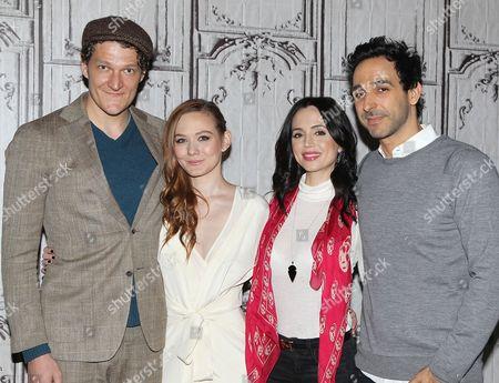 Gabriel Ebert, Louisa Krause, Eliza Dushku and Amir Arison