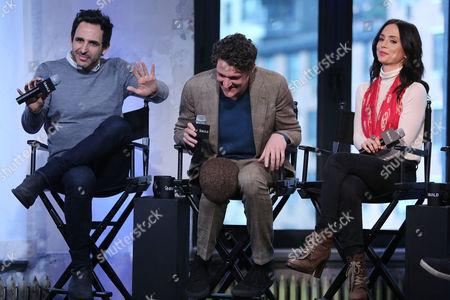 Amir Arison, Gabriel Ebert and Eliza Dushku