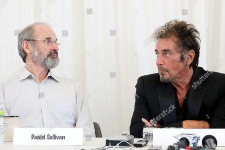 Daniel Sullivan and Al Pacino