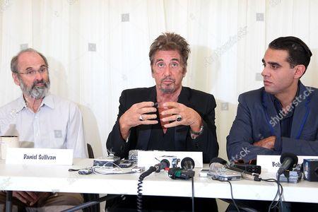Daniel Sullivan, Al Pacino and Bobby Cannavale