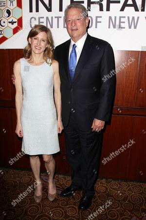Karenna Gore Schiff and Al Gore