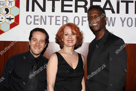 Ben Rauch, Mary Lou Barber and Edward Pleasant