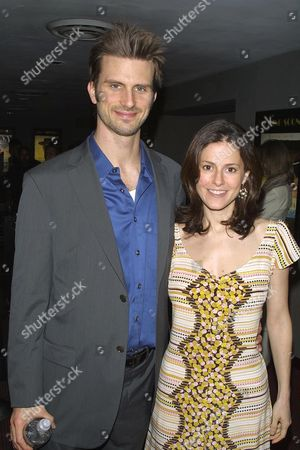 Frederick Weller and fiancee Ali Marsh