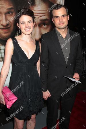 Stephen Plunkett with Katherine Bilby