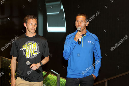 Editorial image of Under Armour Launches SpeedForm 'Gemini' Shoe, New York, America - 30 Oct 2014