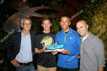 Editorial photo of Under Armour Launches SpeedForm 'Gemini' Shoe, New York, America - 30 Oct 2014