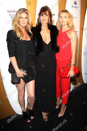 Daniela Pestova, Carol Alt and Rachel Hunter