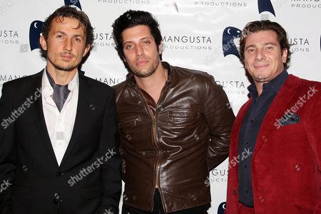 Tao Ruspoli, Shawn Andrews and Giancarlo Canavesio (Executive Producer)