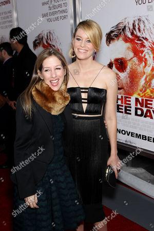 Alli Shearmur and Elizabeth Banks