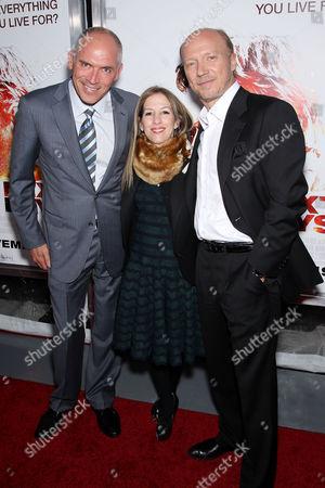 Joe Drake, Alli Shearmur and Paul Haggis
