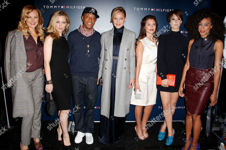 Malin Akerman, Melissa George, Russell Simmons and Abbie Cornish,, Hannah Ware, Alice St. Clair Erskine and Corinne Bailey Rae