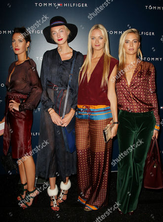 Prisca, Claire, Virginie, and Jenna Courtin-Clarins