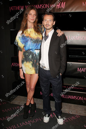 Matthew Williamson and Daria Werbowy