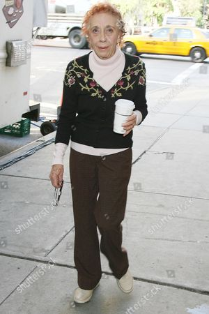 Editorial picture of 'Untitled Nicole Holofcener Project' film set, New York, America - 03 Jun 2008