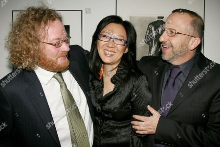 Stock Image of Walt Dohrn, Teresa Cheng and Aron Warner