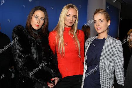 Prisca Courtins-Clarins, Virginie Courtin-Clarins and Jenna Courtin