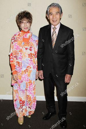 Stock Picture of Yukiko Kobayashi and Kenji Sahara