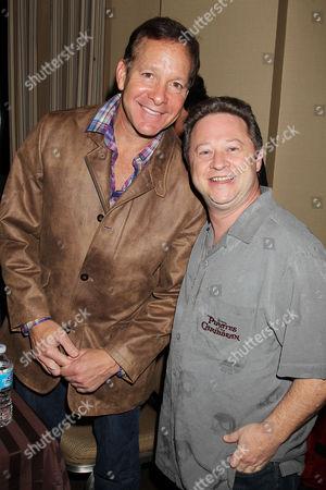Steve Guttenberg and Scott Schwartz