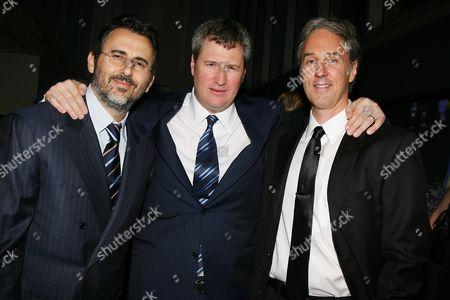 David Mimran, Jordan Schur and Angus MacLachlan