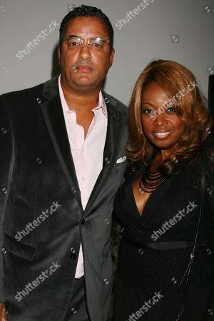 Stock Photo of Herb Wilson and Star Jones