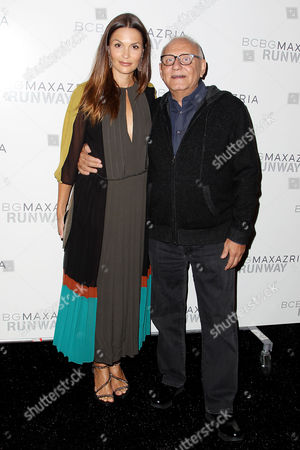 Barbara Schultz and Max Azria