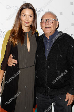 Stock Image of Barbara Schultz and Max Azria