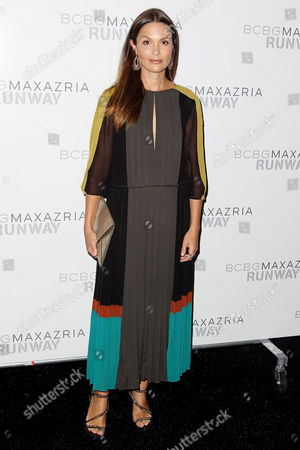 Editorial picture of BCBG Max Azria show, Mercedes-Benz Fashion Week, New York, America - 06 Sep 2012