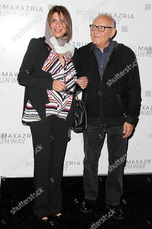 Stock Photo of HRH Basma Bint Saud and Max Azria