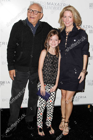 Max Azria, Kathryn Stockett and daughter Lyla