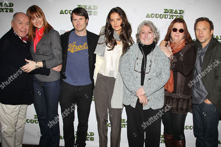 Jack O'Brien (Director), Judy Greer, Josh Hamilton, Katie Holmes, Jayne Houdyshell, Theresa Rebeck (Playwright) and Norbert Leo Butz