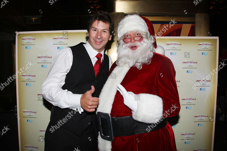 Race Taylor (WPLJ) and Santa Claus