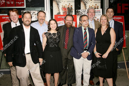 Tyler Hinman, Director Patrick Creadon, New York Times Crossword Editor Will Shortz, Ellen Ripstein, Merl Reagle, Jon Delfin, Al Sanders, Christine O'Malley and Trip Payne