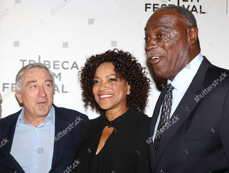Robert De Niro, Grace Hightower and Cazzie Russell