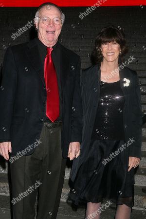 Nick Pileggi and wife Nora Efron