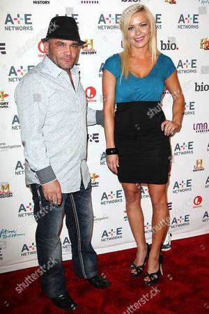 Stock Photo of Russell Hantz and Natalie White