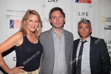 Patricia Duff, Kevin MacDonald and Daniel Battsek