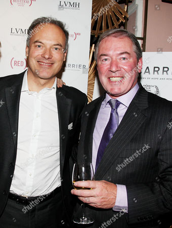 Renaud Dutreil (Chairman of LVMH) and Jim Clerkin (Pres. and CEO