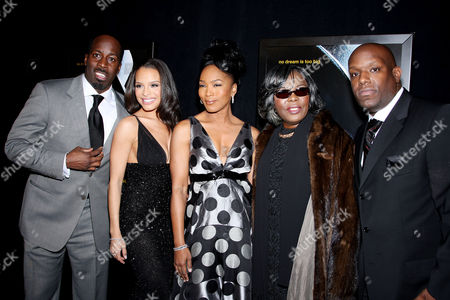 Mark Pitts (Producer), Antonique Smith, Angela Bassett, Voletta Wallace (Biggie Smalls' Mother), Wayne Barrow (Producer)