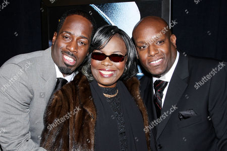Stock Photo of Mark Pitts (Producer), Voletta Wallace (Biggie Smalls' Mother, Wayne Barrow (Producer)