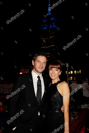Stock Picture of Gary Shore (Director) with fiancee