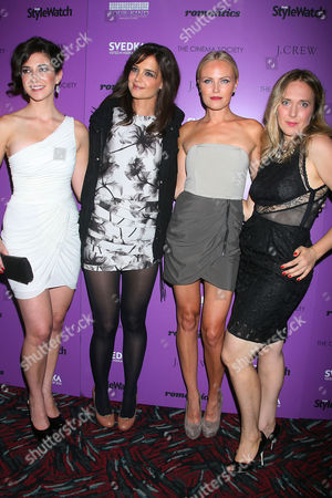 Rebecca Lawrence, Katie Holmes, Malin Akerman and Galt Niederhoffer (Writer/Director)