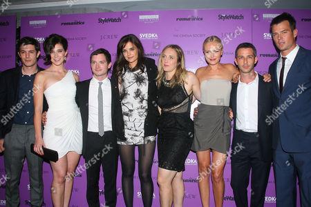 Stock Photo of Adam Brody, Rebecca Lawrence, Elijah Wood, Katie Holmes, Galt Niederhoffer, Malin Akerman, Jeremy Strong and Josh Duhamel