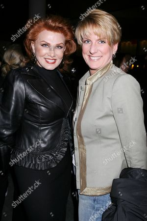 Georgette Mosbacher and Felicia Taylor