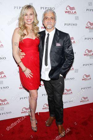 Stock Picture of Rebecca Romijn, Ric Pipino