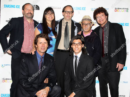 Editorial image of 'Chasing Ice' film premiere, New York, America - 17 Oct 2012